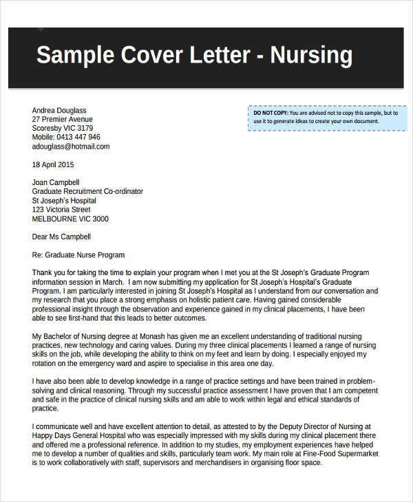 Cover Letter Theatre Nurse