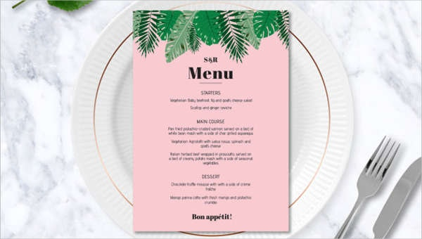 26 Party Menu Templates Ai Psd Docs Pages