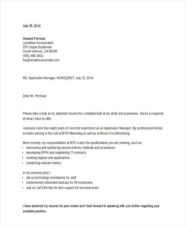 general manager job application letter2