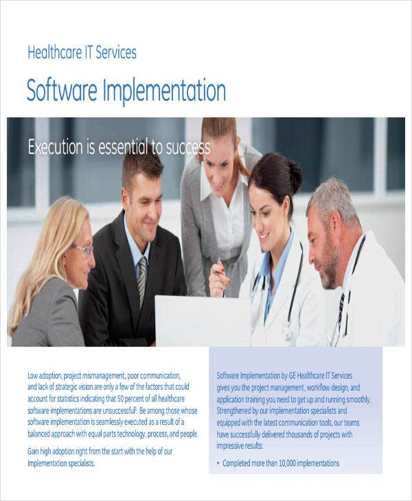 software project implementation plan