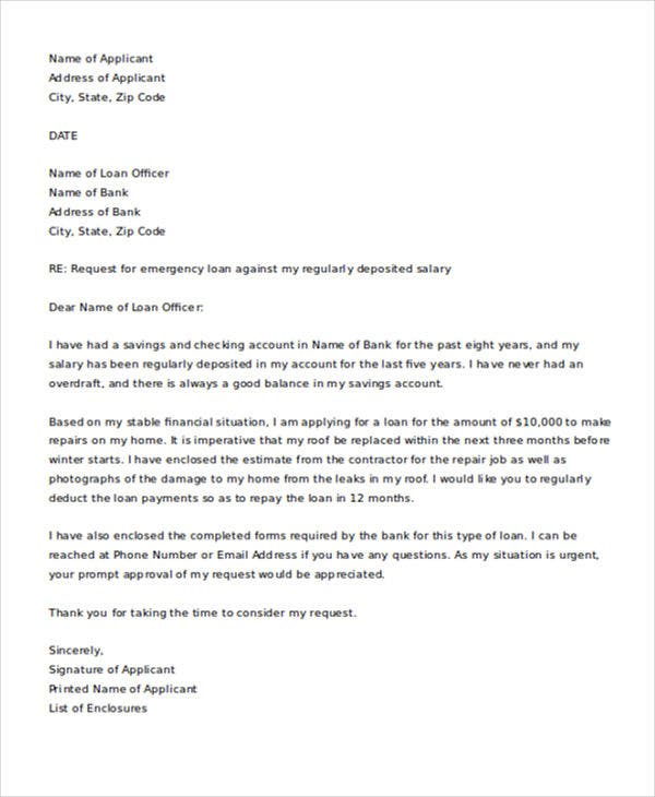 Sample Letter Requesting Financial Assistance From Government from images.template.net