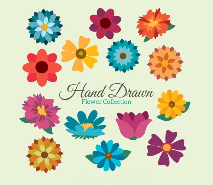 hand-drawn-floral-vector