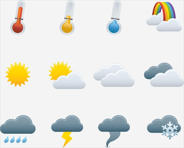 weather-icons-vector