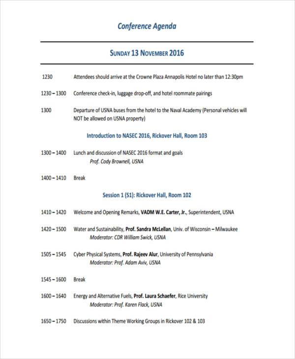 Sample NASEC Conference
