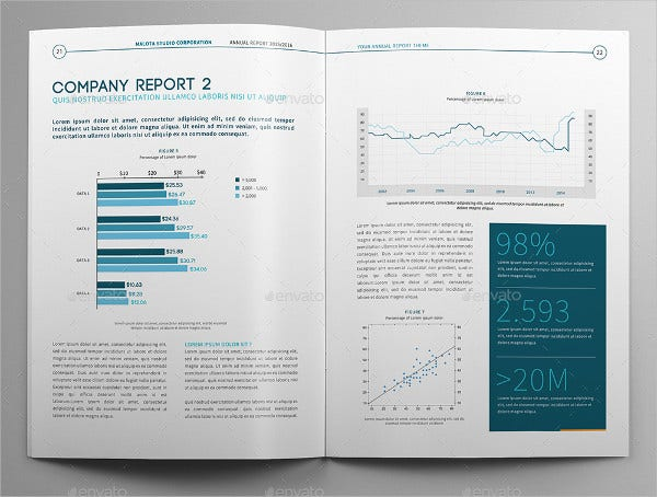 modern annual company brochure2