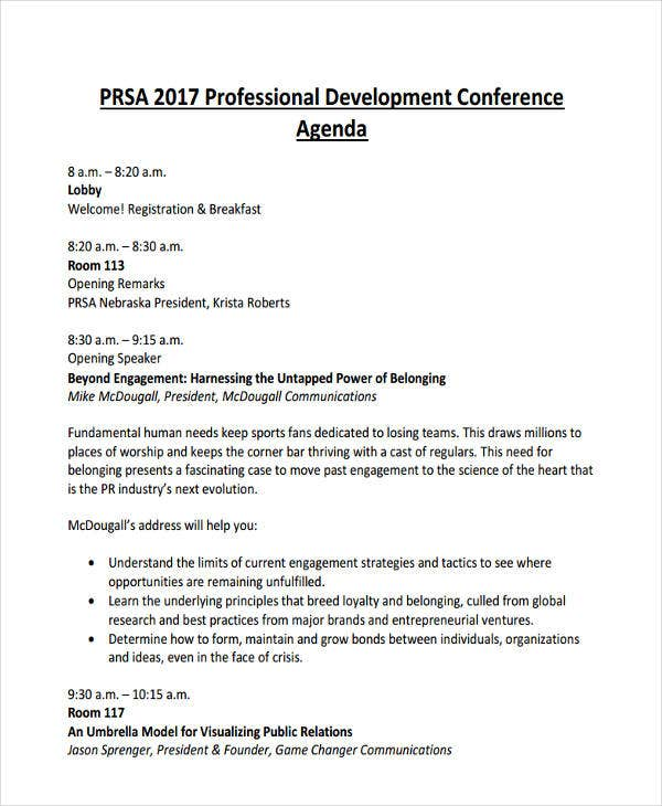 Professional Development Conference