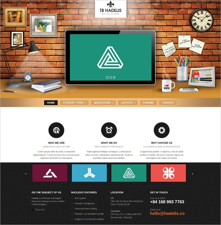 15 drupal themes templates free premium templates for Drupal custom view template