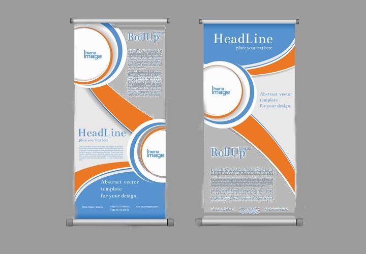scroll business banners