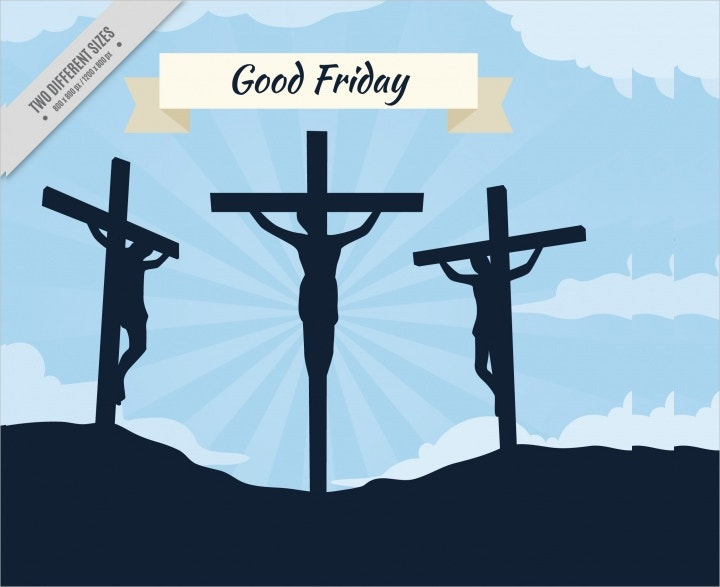 christ good friday vector