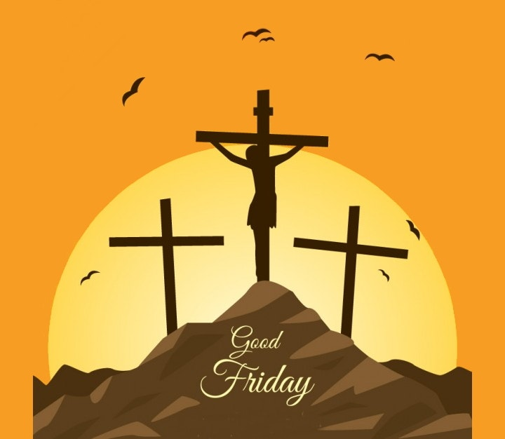 religious good friday vector