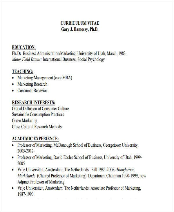business administration student resume sample example fresh graduate
