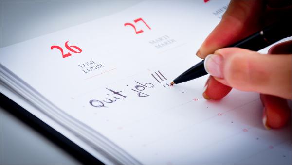 8 sample corporate resignation letters