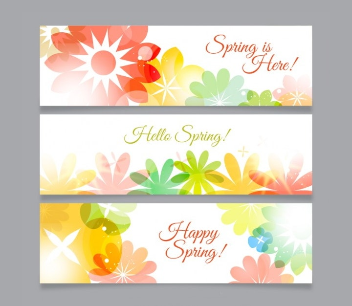 flowers-spring-banners