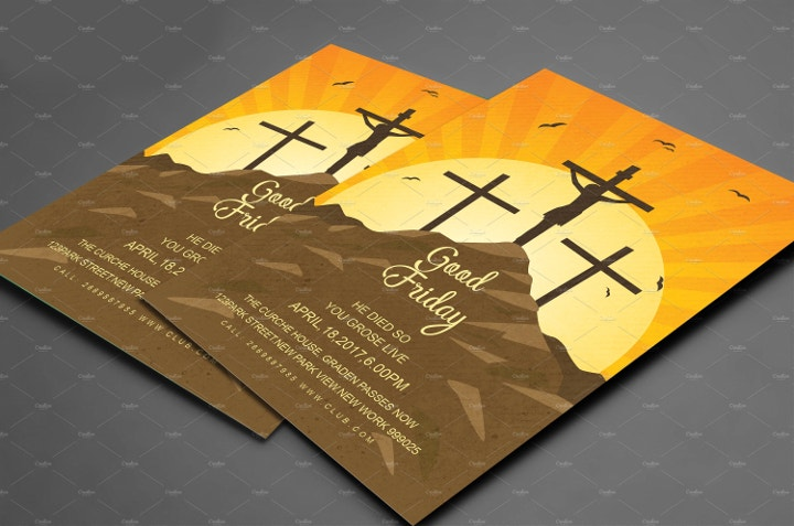 good-friday-flyer-template