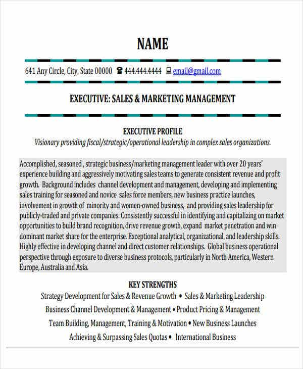 small business marketing resume1