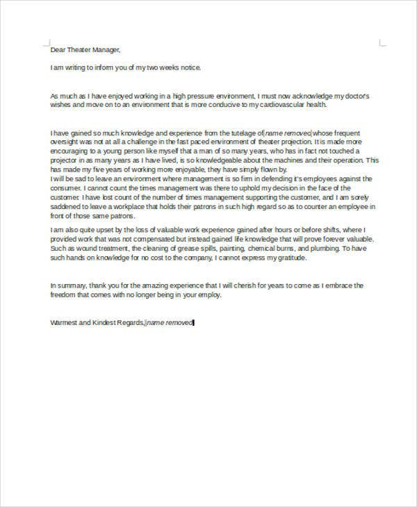 Rude Resignation Letters   Free Sample Example Format Download