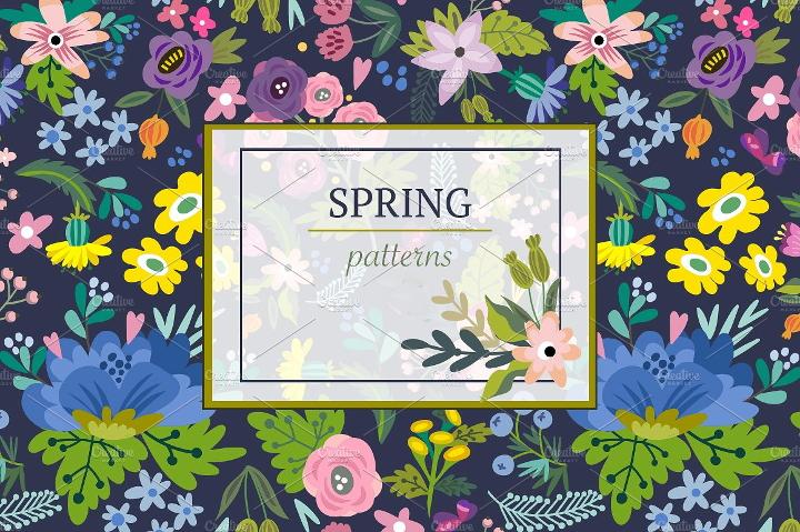 spring-pattern-design