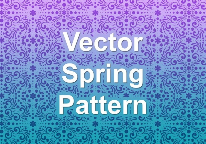 vector-spring-pattern