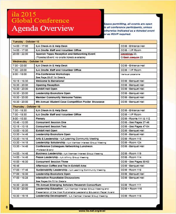 conference program agenda2