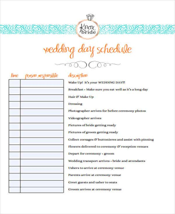 event agenda outline template