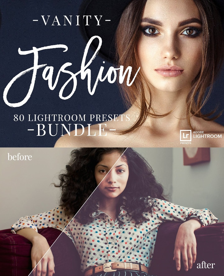 vanity fashion lightroom presets
