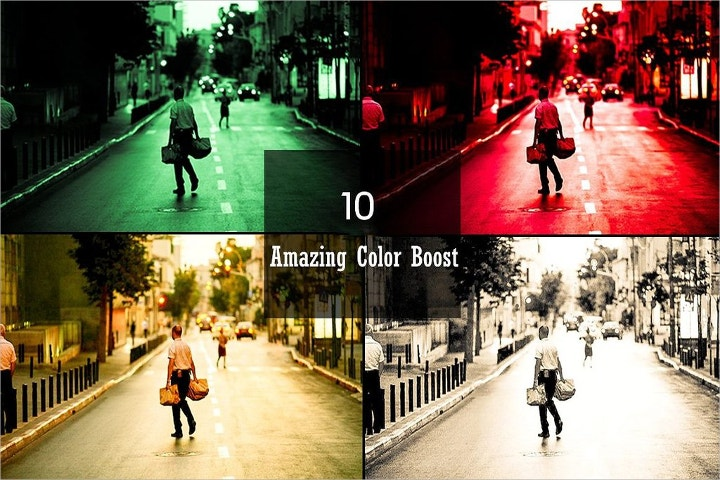 color boost lightroom presets
