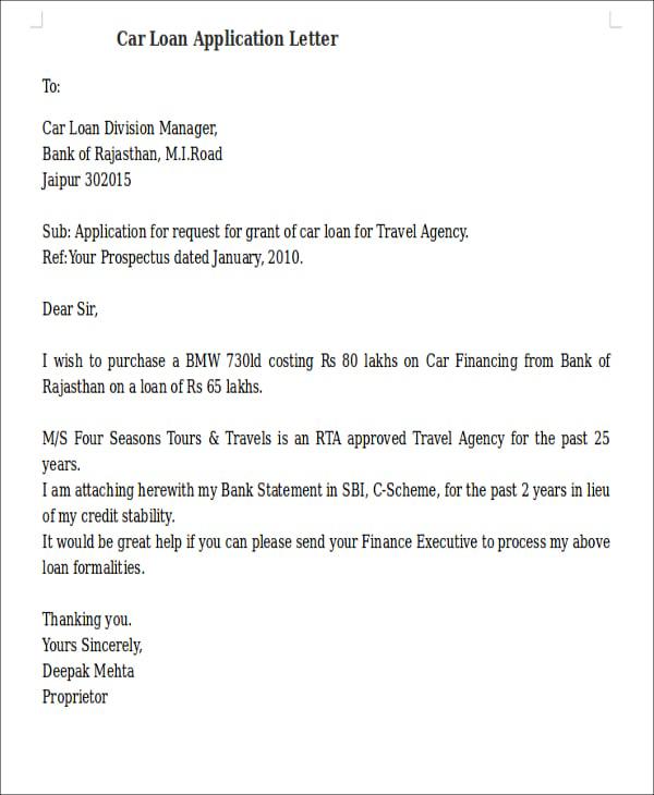 Sample job application letter for bank manager unsolicited job application letter format for a retail altavistaventures Image collections