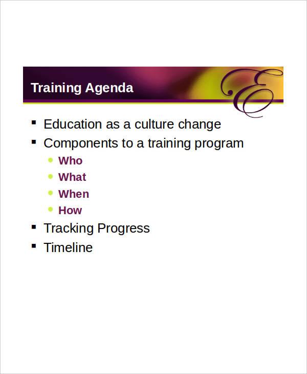 staff training agenda1