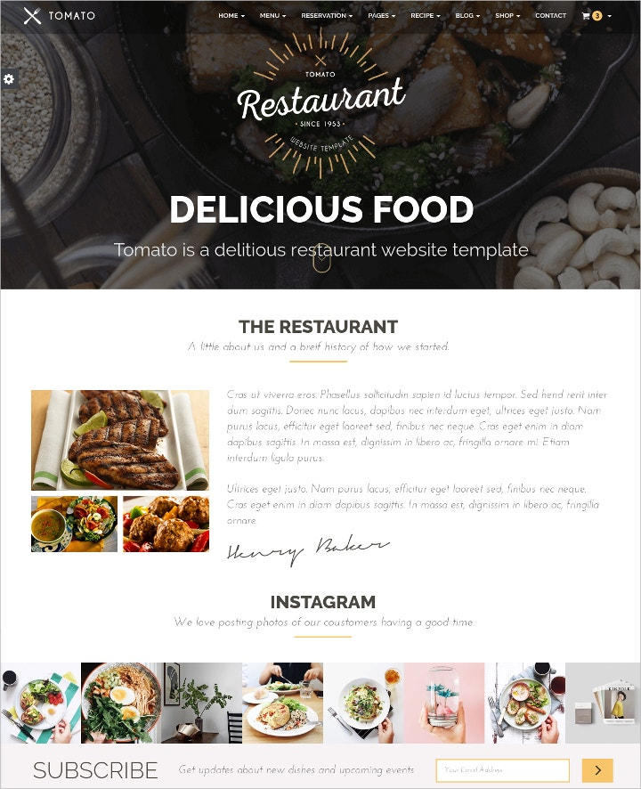 restaurant-food-recipes-website-theme