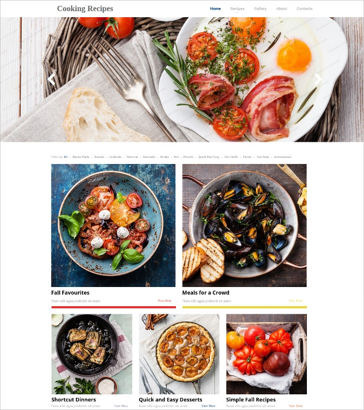 cooking-food-recipes-website-template