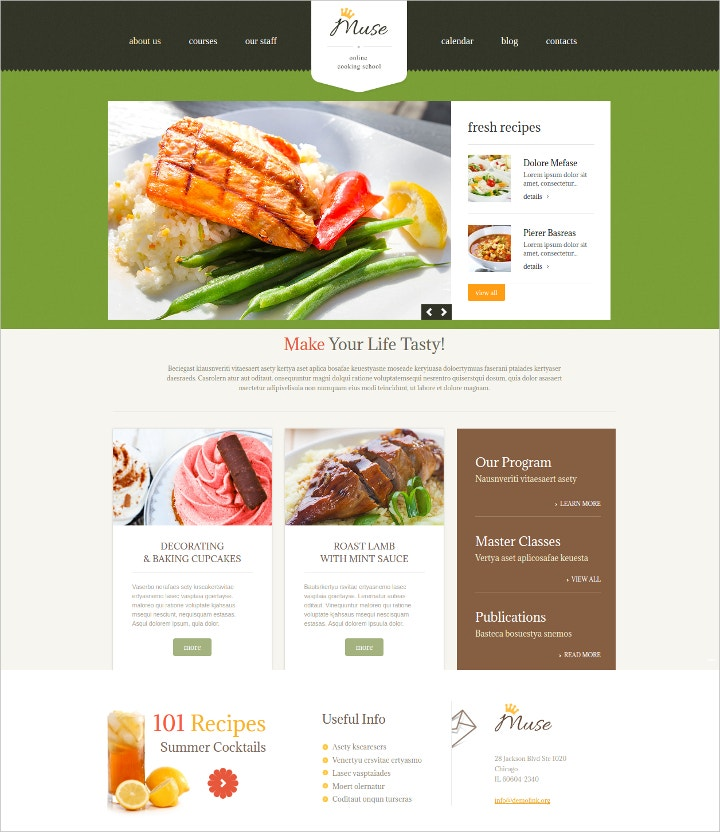 responsive-food-recipes-wordpress-template