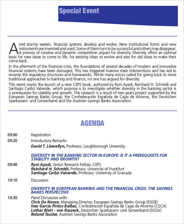 special event agenda4