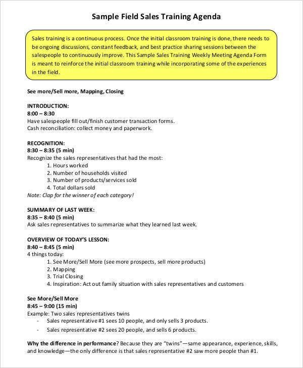 sales training agenda3
