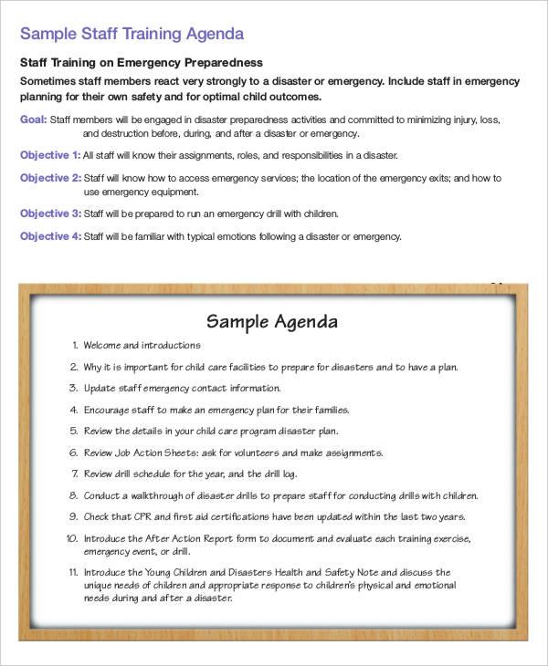 staff training agenda2