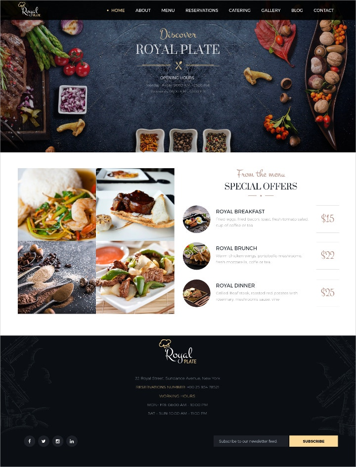 catering-services-wordpress-theme