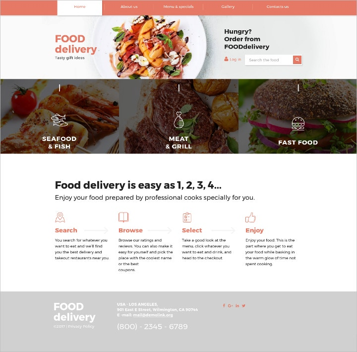 catering-services-responsive-website-template