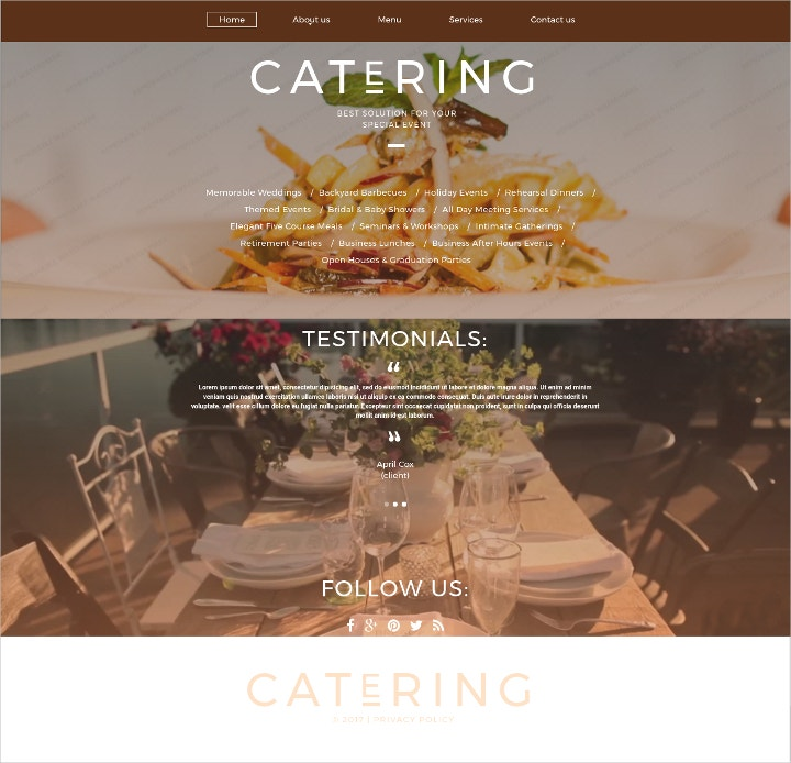 catering-solutions-website-template