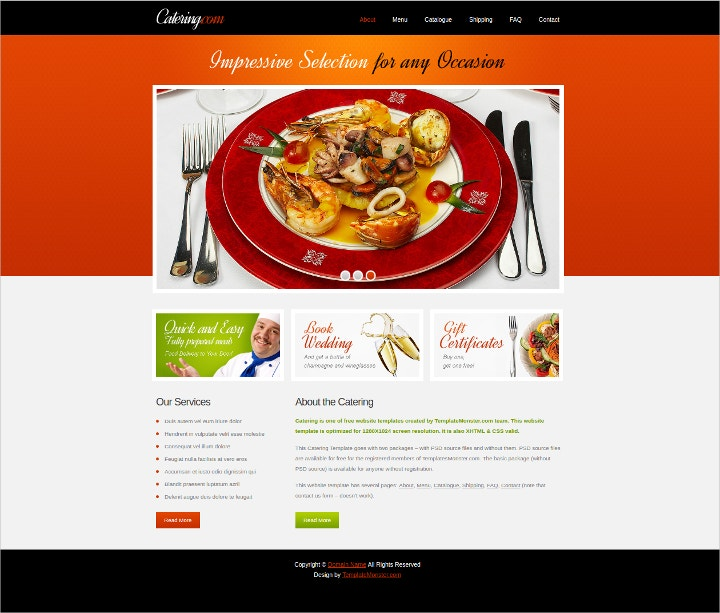 free-catering-services-website-template