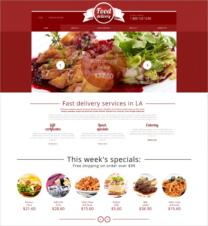 online-catering-services-web-template