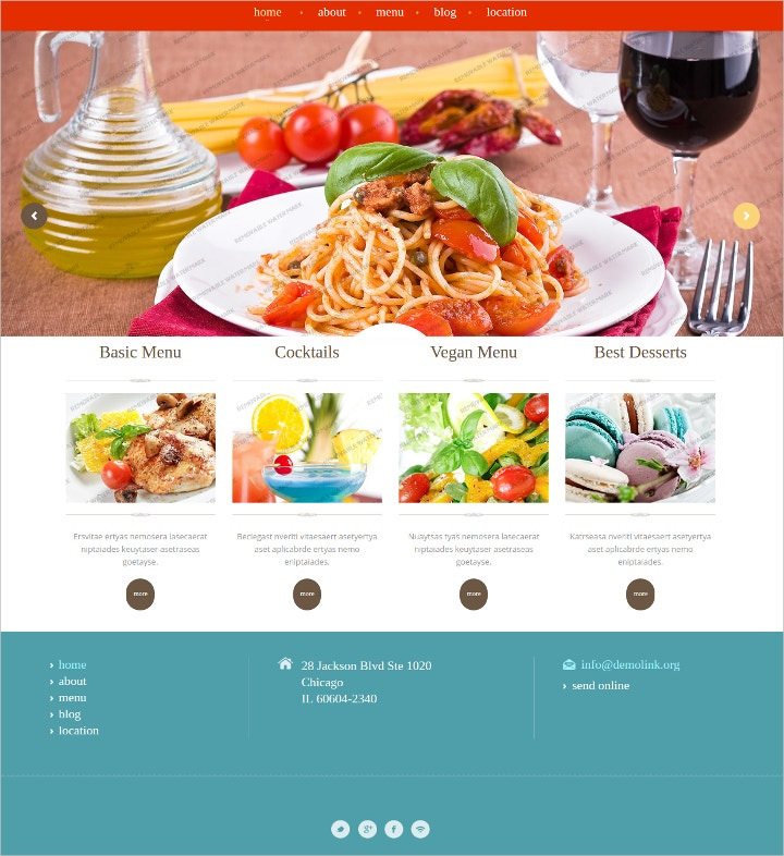 catering-services-html-website-template