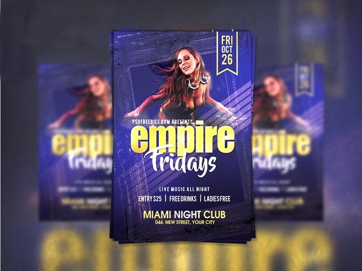 friday-party-psd-flyer