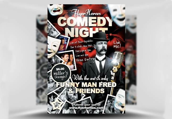 free-comedy-flyer-template
