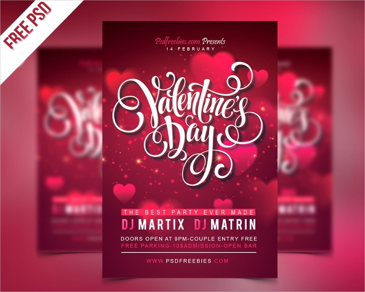 valentines-party-psd-flyer-template
