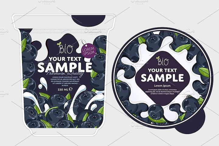 blueberry-yogurt-packaging-design