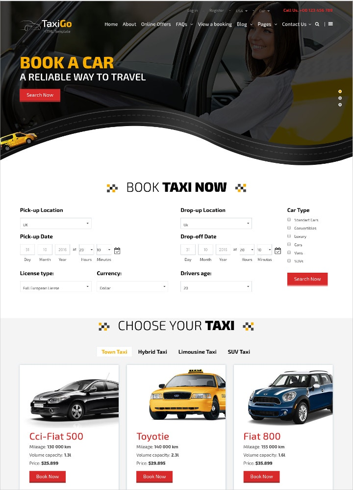 taxi-company-website-template