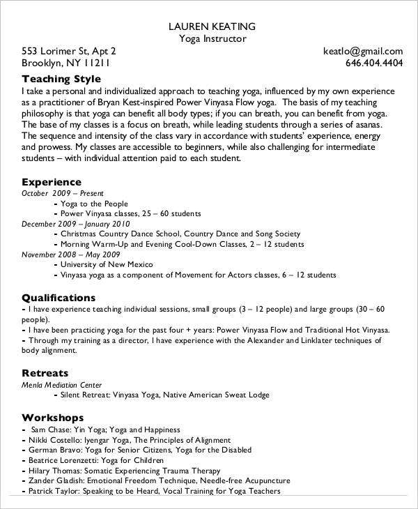25 simple teacher resumes free word pdf documents download