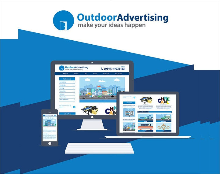 outdoor-advertising-flat-ui-design