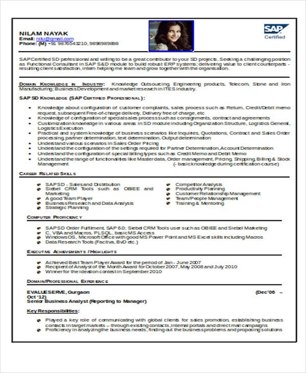 How to write a resume for engineering job