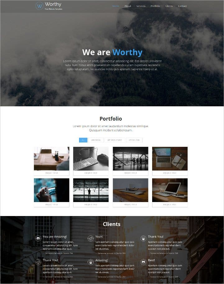 personal-html5-free-website-template