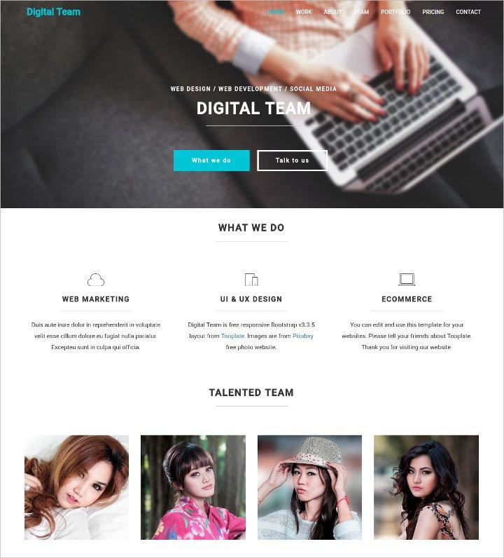 digital-html5-website-theme